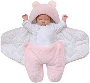 nid d'ange de bebe qui dort